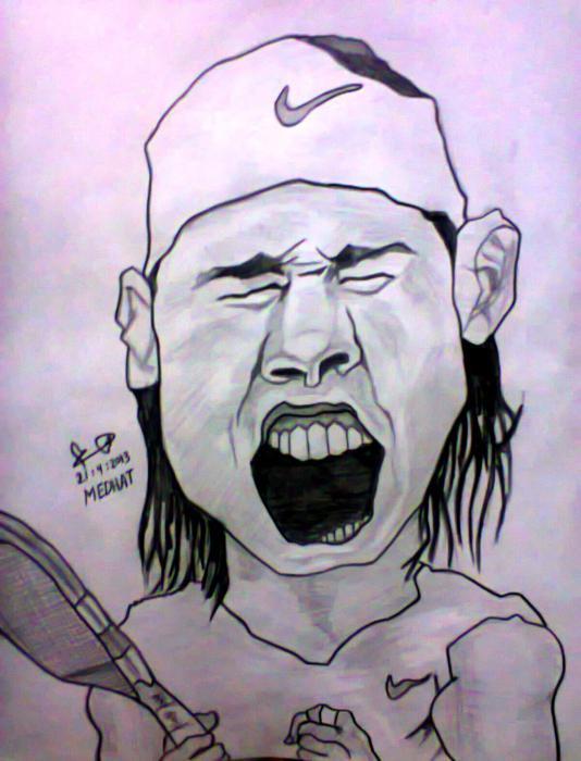 Rafael Nadal by MohamedMedhat